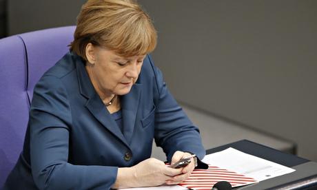 Angela Merkel Smartphone
